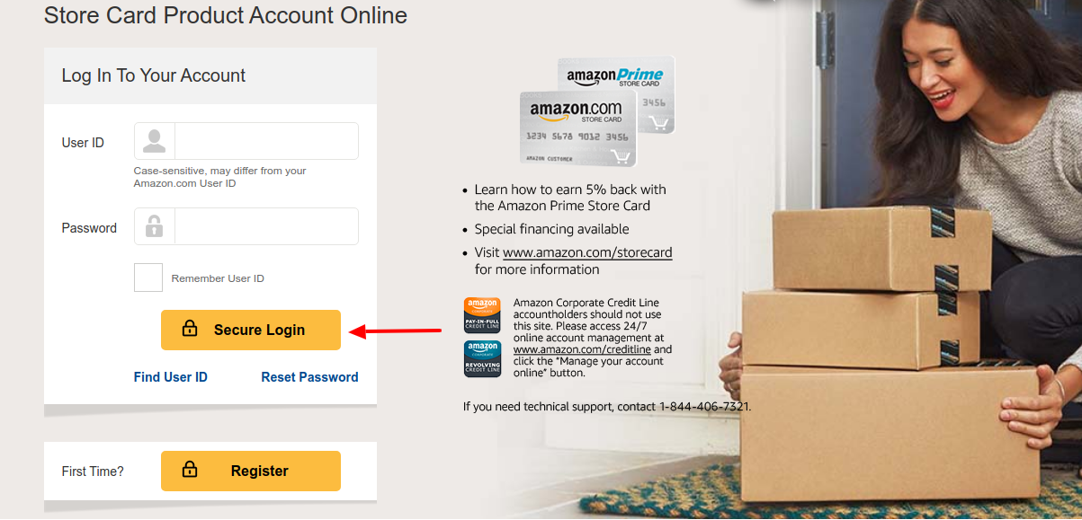 Amazon Credit Card Account Login