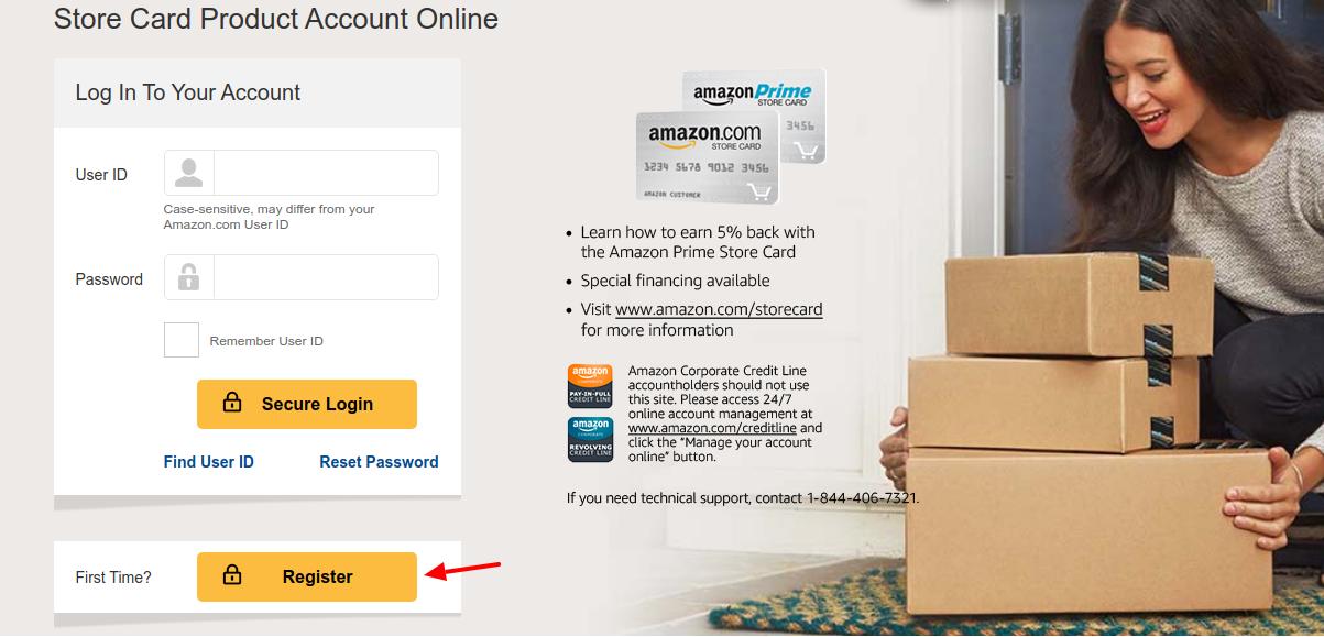 Amazon Credit Card Register