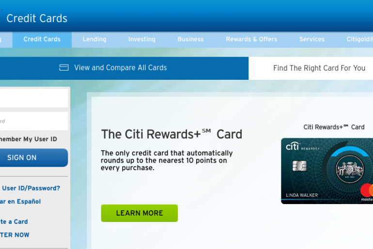Citi Credit Cards Logo