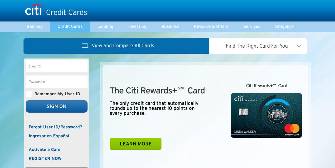 Citi Credit Cards Logo