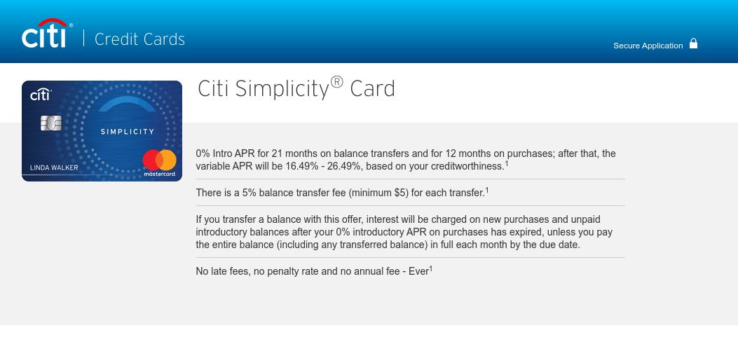 Citi Simplycity Card Logo