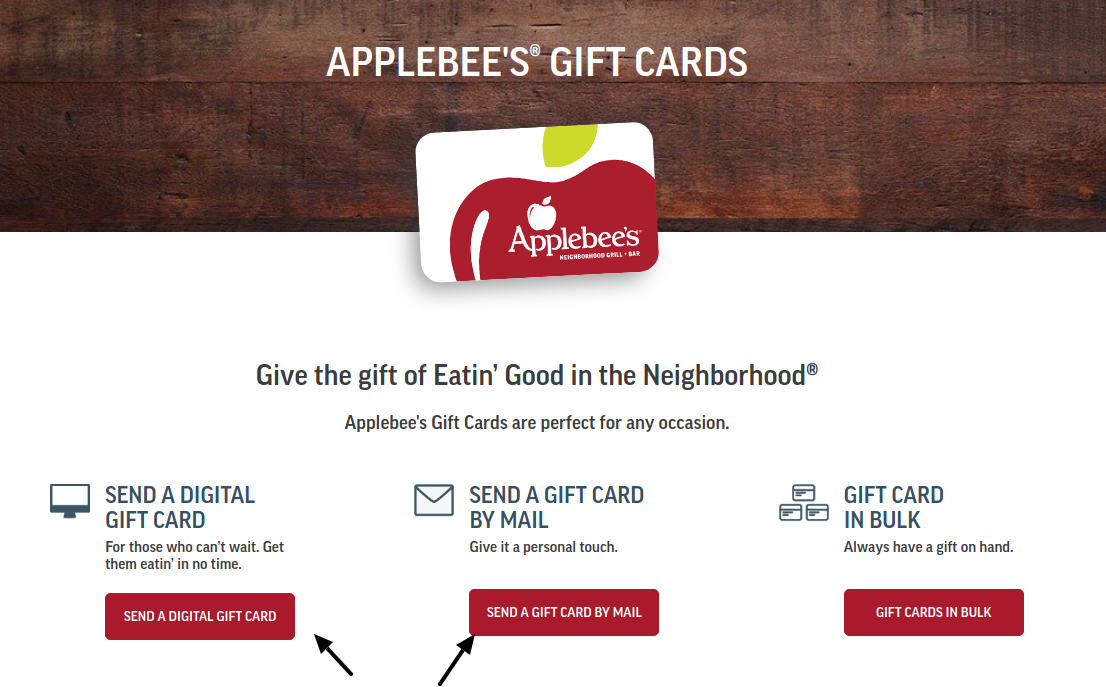 Applebee Gift Card Buy