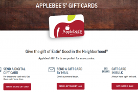 Applebee s Gift Card Logo