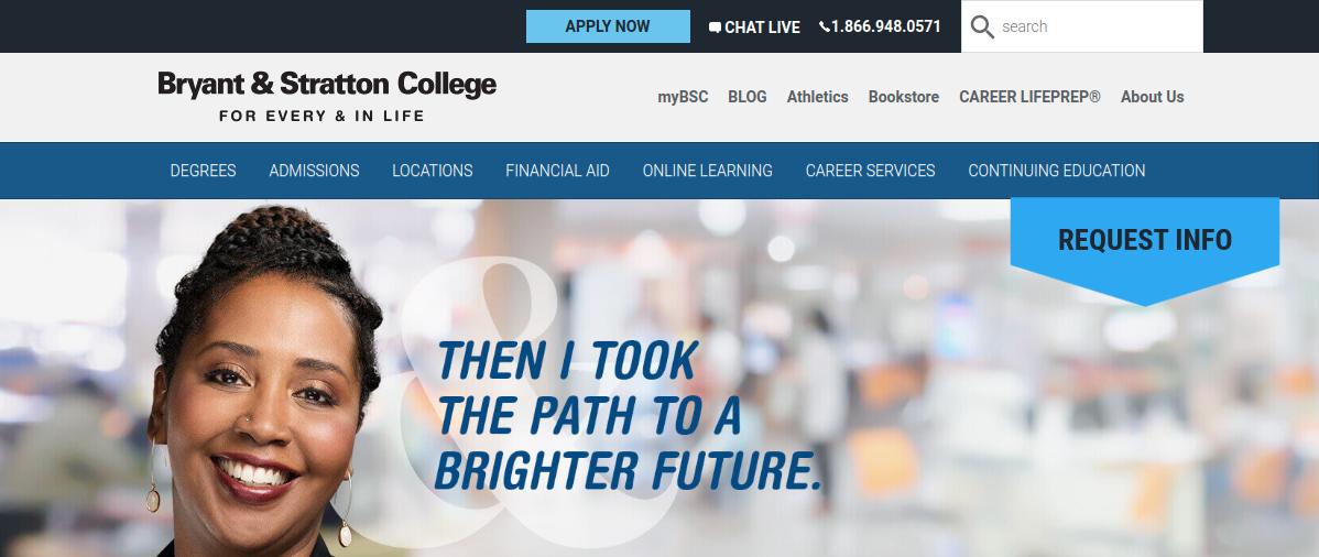 Bryant Stratton College Logo