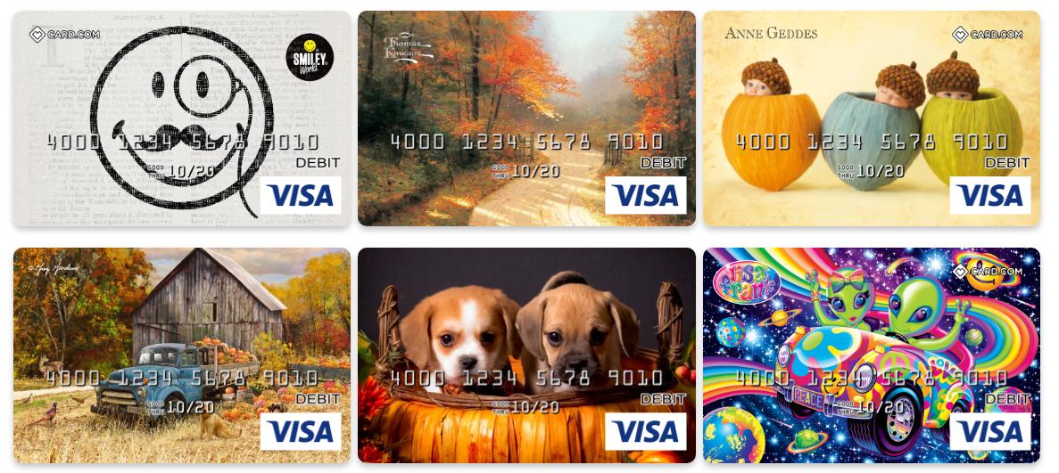 CARD com Prepaid Mastercards and Visa Prepaid Cards