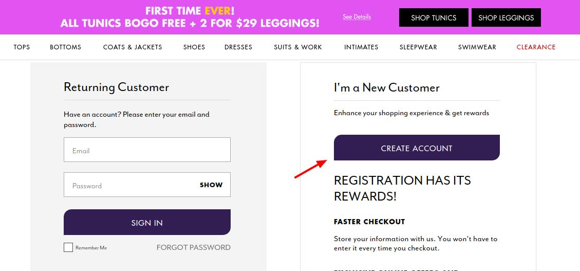 Roaman Credit Card Account Create