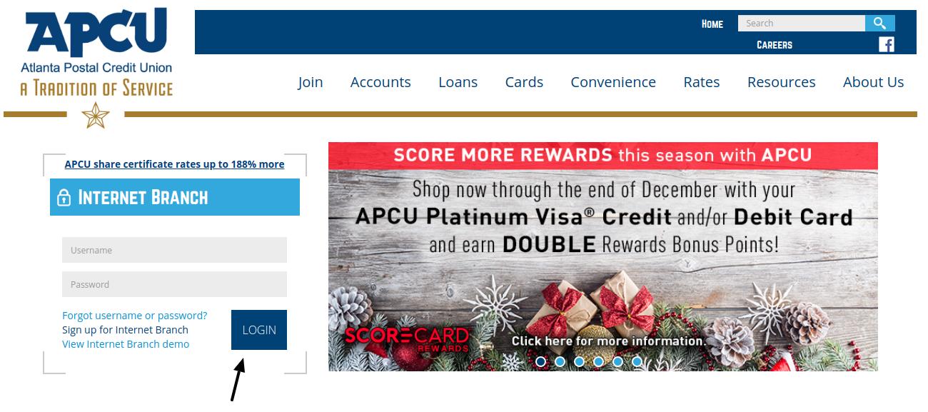 Atlanta Postal Credit Union Login