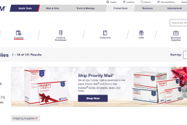 USPS Shipping Shops