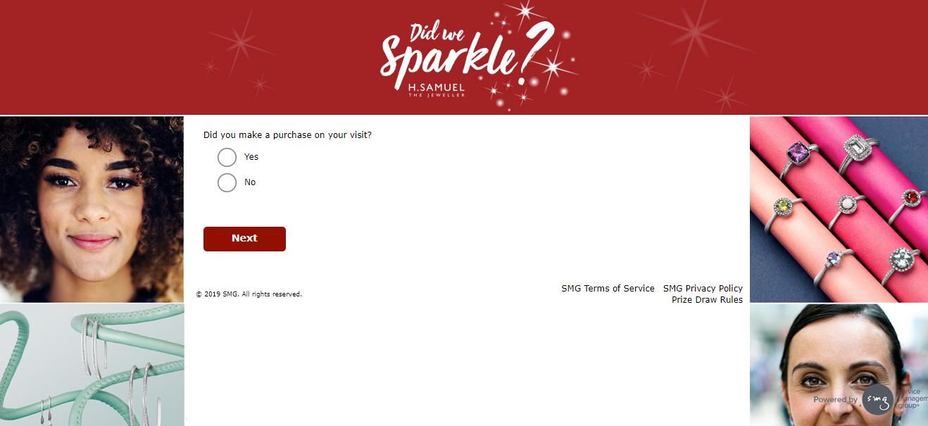 hsamuel Sparkle Survey