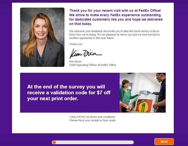 Fedex Survey